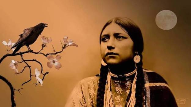 lakota-woman-and-raven-art