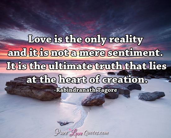 love-is-the-only-reality